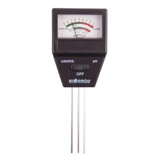 Tester podłoża 2w1 - pH-metr + urodzajność gleby
