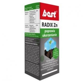 Radix Zn - nawóz poprawiający ukorzenienie roślin - Best - 30 ml