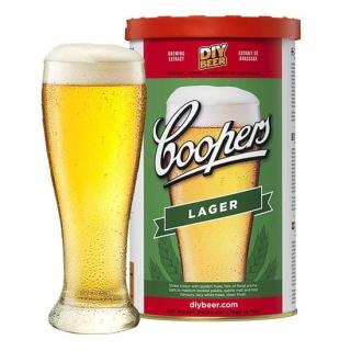 Koncentrat do warzenia piwa - Coopers Lager - 1,7 kg