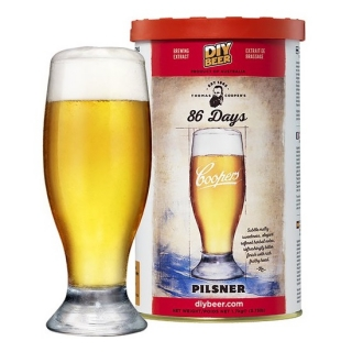 Koncentrat do warzenia piwa - Coopers 86 days Pilsner - 1,7 kg