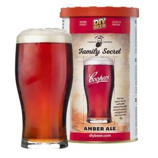 Koncentrat do warzenia piwa - Coopers Family Secret Amber Ale - 1,7 kg