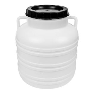 Beczka z uchwytami na kapustę i ogórki - 40 litrów