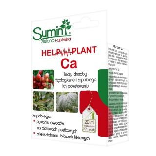 Help Plant Ca - na pękanie owoców na drzewach pestkowych i zniekształcanie blaszek liściowych - Sumin - 20 ml