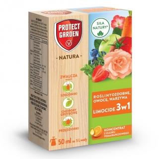 Limocide rośliny ozdobne, warzywa i owoce - naturalny środek 3 w 1 - Protect Garden (dawniej Bayer) - 50 ml