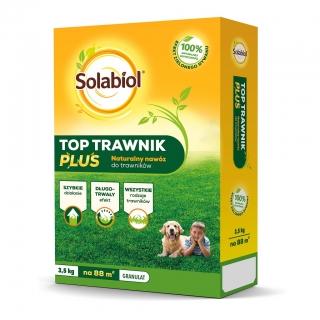Top Trawnik Plus - szybki i długotrwały efekt na każdy rodzaj trawnika - Solabiol - 3,5 kg