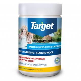 Multichlor - tabletki do zwalczania glonów i dezynfekcji wody basenowej - Target - 1 kg