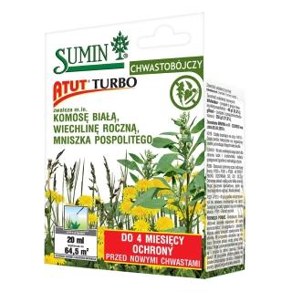 Atut Turbo - zwalcza komosę białą, mniszka pospolitego i inne - Sumin - 20 ml
