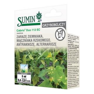 Cabrio Duo 112 EC - na główne choroby ziemniaka - zarazę i alternariozę - Sumin - 5 ml