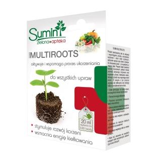 Multiroots - wydajny nawóz w żelu wspomagający ukorzenianie - Sumin - 20 ml