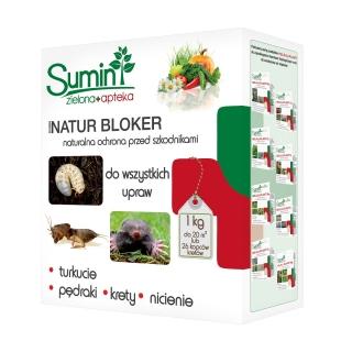 Natur Bloker - odstrasza pędraki, krety i turkucie - Sumin - 1 kg