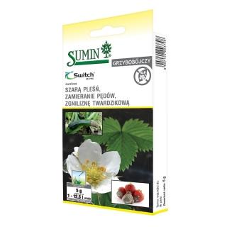 Switch 62,5 WG - na choroby grzybowe warzyw, drzew owocowych i roślin ozdobnych - Sumin - 5 g