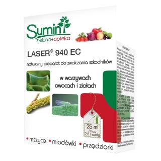 Laser 940 EC - na szkodniki warzyw, ziół i owoców - Sumin - 25 ml