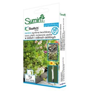 Switch 62,5 WG - na choroby grzybowe roślin ozdobnych i ziół - Sumin - 5 g