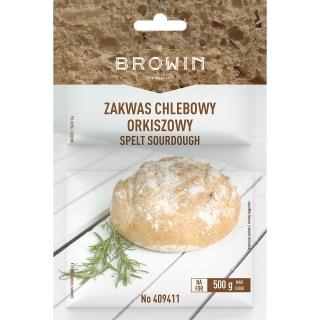 Zakwas chlebowy - orkiszowy z drożdżami - 19 g