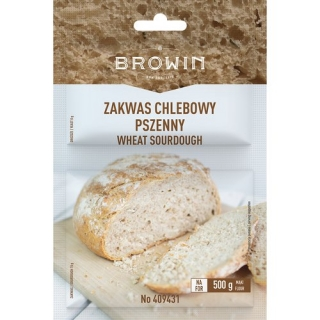 Zakwas chlebowy - pszenny z drożdżami - 23 g