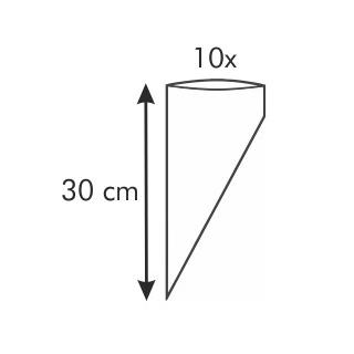 Woreczek do zdobienia - DELÍCIA - 30 cm - 10 szt.