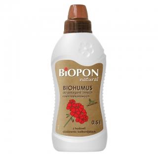 Biohumus do pelargonii i roślin balkonowych - BIOPON - 1 l
