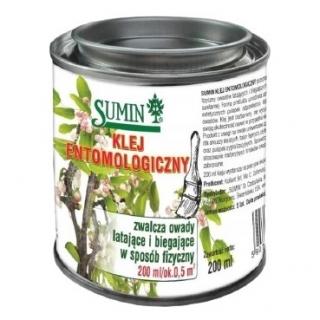 Klej entomologiczny - zwalcza owady biegające i latające - Sumin - 200 ml