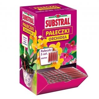 Pałeczki nawozowe do Orchidei - na 3 miesiące do 5 doniczek - Substral - 5 szt.