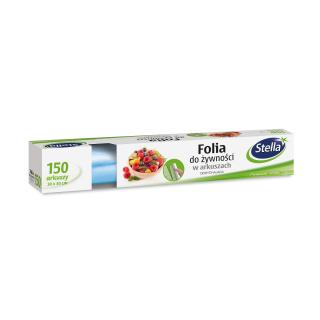 Folia do żywności w arkuszach oddychająca - box - 150 arkuszy