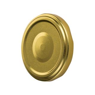 Zakrętka do słoików (gwint 6) - złota - śr. 82 mm