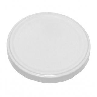Małe ozdobne słoiczki 40 ml - śr. 43 mm - z białymi zakrętkami - 8 szt.