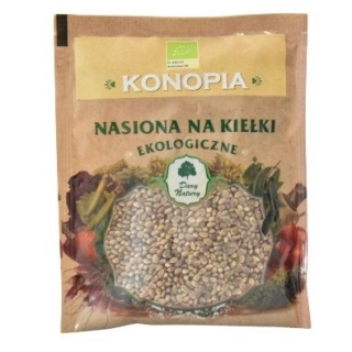 BIO Nasiona na kiełki - Konopia - certyfikowane nasiona ekologiczne