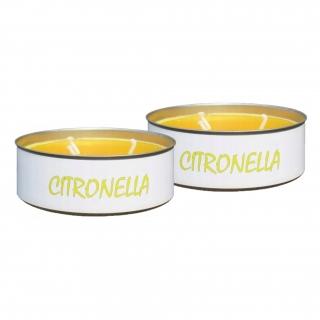 Świeca antykomarowa - Citronella - 2 szt.