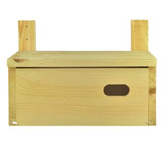 Budka dla jerzyków - z listwami ułatwiającymi montaż - surowa
