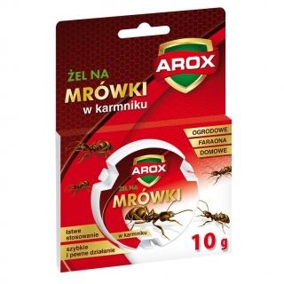 Żel w karmniku - łatwy i skuteczny środek na mrówki faraona, ogrodowe i domowe - Arox