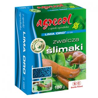 Lima Oro 3GB - najskuteczniejszy na wszystkie ślimaki - Agrecol - 100 gram