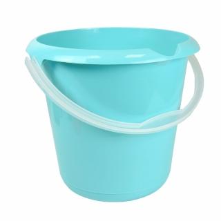Wiadro z wylewką - Mika - 10 l - wodny niebieski