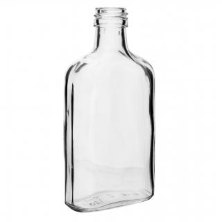 Zestaw butelek na nalewkę - piersiówka - 200 ml - 10 szt.