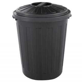 Pojemnik na śmieci mini 7 l - Mats - grafitowy