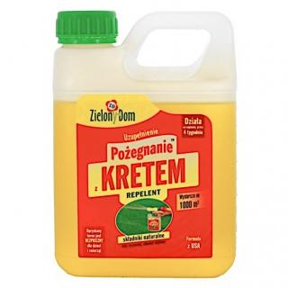 Odstraszacz kretów - Pożegnanie z kretem - Zielony Dom - 950 ml - uzupełnienie