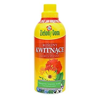 Nawóz do roślin kwitnących - Zielony Dom - 750 ml