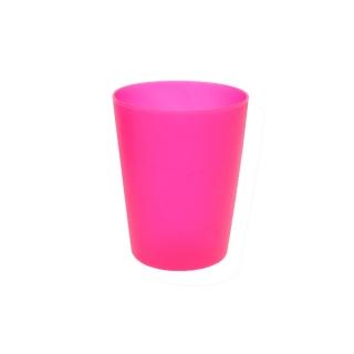 Kubek plastikowy 0,25 l - świeży różowy