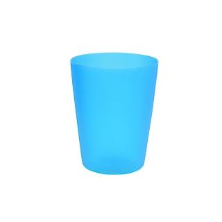 Kubek plastikowy 0,25 l - świeży niebieski