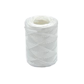Sznurek ogrodowy z polipropylenu - biały - 100 m - 100 g