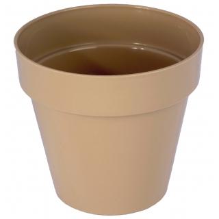 Osłonka okrągła Ibiza - 14 cm - cafe late