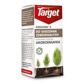 Korzonek D do ukorzeniania - sadzonki zdrewniałe roślin ozdobnych np. cyprysik, żywotnik, cis