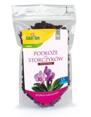 Piniowe podłoże do storczyków z mikoryzą 1,5 l