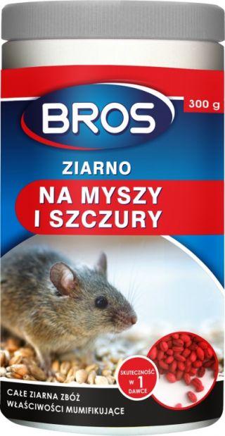 Bros - trutka w formie ziarna na myszy i szczury - 90 g
